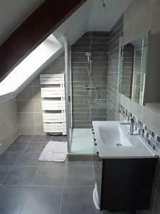 Exemple De Petite Salle De Bain : exemple de salle de bains sous comble 3 petite salle de ~ Dailycaller-alerts.com Idées de Décoration