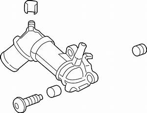 Chevrolet Cruze Engine Coolant Thermostat Kit  2 0 Liter