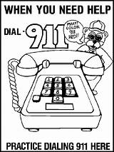 Coloring Safety Pages Fire 911 Prevention Printable Printables Print Call Roll Drop Stop Recommended Tips Google Sparky Educational Education Dial sketch template