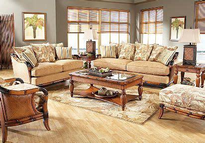cindy crawford home coconut grove  pc livingroom