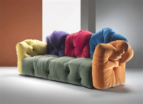 canapé coloré le canapé design italien en 80 photos pour relooker le salon