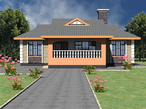 neatly designed simple bedroom bungalow house hpd consult