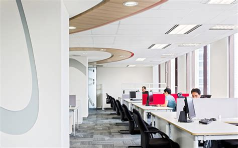 Toyota Center Box Office by Space Matrix Leading Workplace Corporate Office
