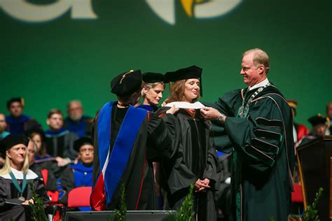 und graduates shared commencement spotlight  honored