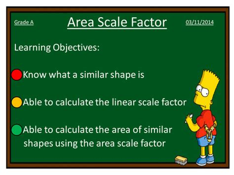 Area And Volume Scale Factor By Dannytheref Teaching