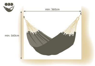 Standard Hammock Dimensions by Sizes