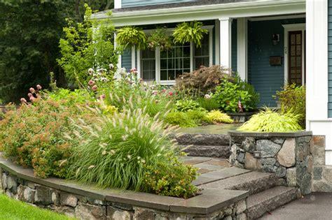 front entrance landscape design traditional landscape