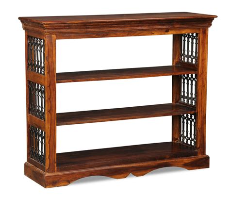 Low Bookcase Wood by Jali Low Bookcase Trade Furniture Company
