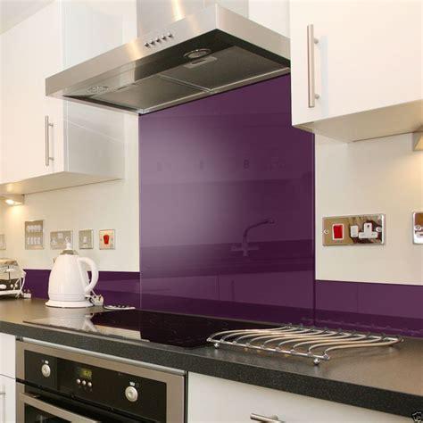 kitchen splashback ideas uk details about purple glass splashback upstand in