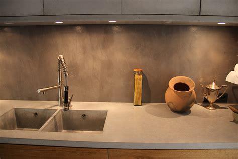 béton ciré plan de travail cuisine maison ancienne chaponost beton cire lyon grenoble