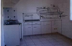 Plan De Meuble : besoin d 39 aide pour faire plan de travail cuisine et meubles ~ Melissatoandfro.com Idées de Décoration