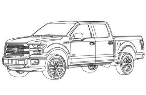 ford  pickup truck coloring page  ford category select   printable crafts
