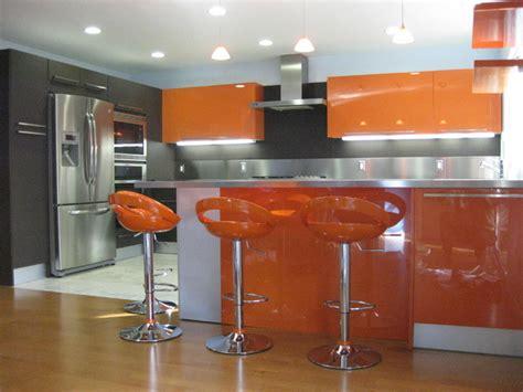 orange kitchens ideas orange gloss kitchen designs modern kitchen san