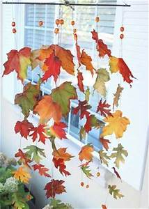 12 Creative Home Decor Ideas, Using Fall Leaves and Dry