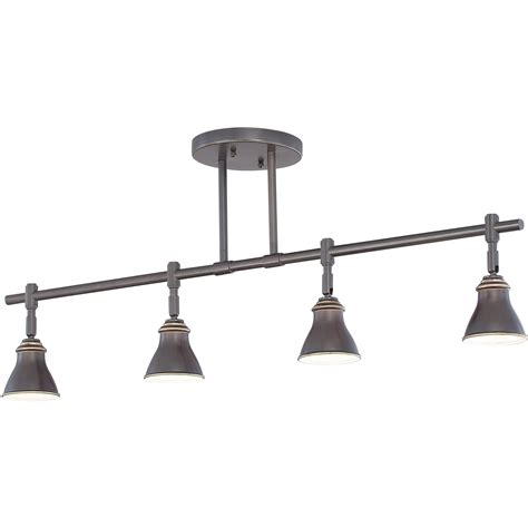 quoizel qtr10054pn contemporary ceiling track light qz