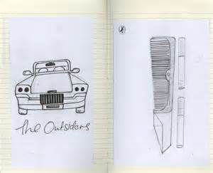 The Outsiders Book Cover Drawings