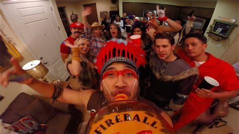 Gopro Fireball Halloween Party Youtube