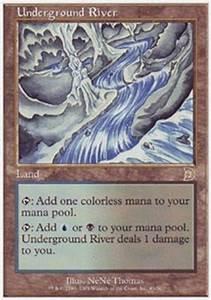 Magic the Gathering Deckmaster Single Underground River ...