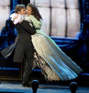 Sierra Boggess and Hadley Fraser Phantom