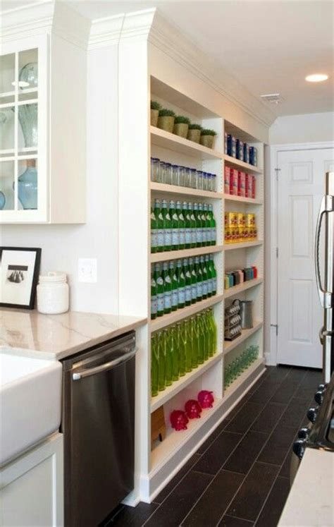 Narrow Pull Out Pantry Narrow Pantry With Pull Out Pantry Shelves Located