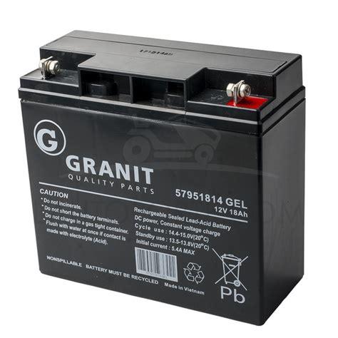 batterie gel  tracteur tondeuse castelgarden stiga