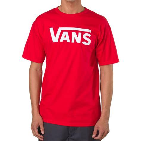 vans classic  shirt red