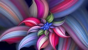 Abstract Flower Vector Design HD Wallpaper of Vector ...