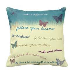 Decorative Couch Pillow Ideas by Inspirational Sayings Throw Pillow Zazzle