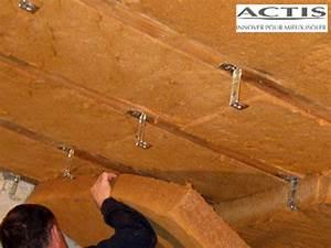 Isolation Des Combles Au Sol : avantages techniques de la fibre de bois en isolation ~ Premium-room.com Idées de Décoration