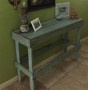 Diy Pallet Entry Table Plans