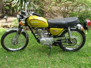 Honda Cl100 Motorcycle 1970