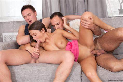 Coed Cheerleader Boned Hardcore Ugly Sister Foxi Di Receives Dicked By Threesome Excited Guys