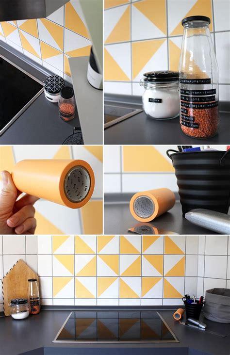 Fliesenspiegel Küche Verschönern by Do It Yourself Fliesenspiegel Mit Masking