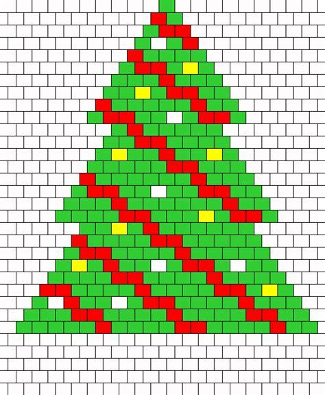 christmas tree peyote 2 bead pattern peyote bead