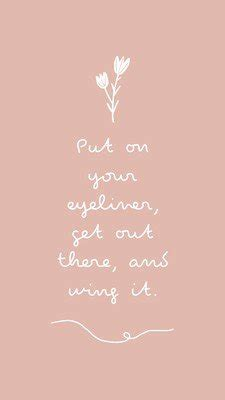 See the best cute phone wallpapers collection. Pink Illustration Delicate Inspirational/Motivational ...