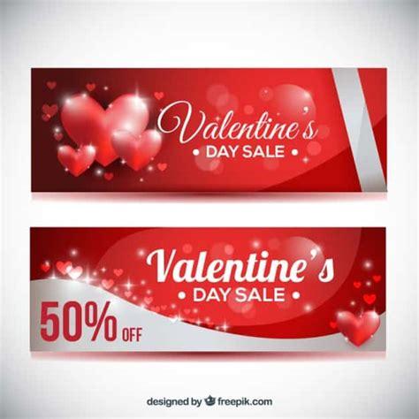 valentines day web banner templates creative beacon