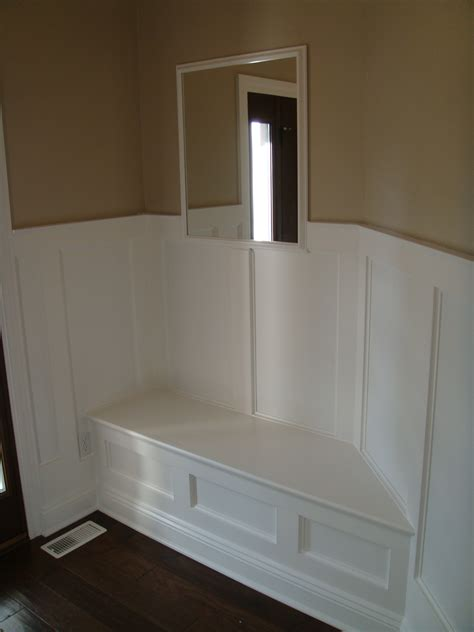 ana white angled wall built  bench diy projects