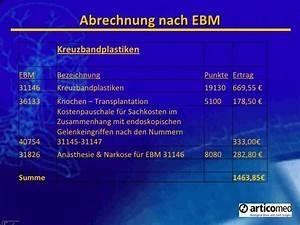 Abrechnung Ebm : h ndler pr sentation ~ Themetempest.com Abrechnung