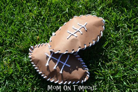 football crafts for to make crafty morning 264 | football craft for kids lacing