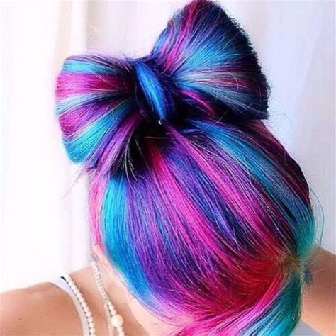 20 Pretty Cool Colored Hair Ideas → Community Color