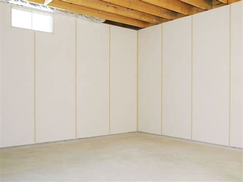 Drop Ceiling Options For Basements by Insulated Basement Wall Panels Installed In Green Bay