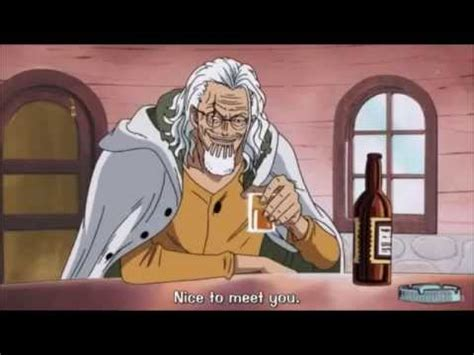 strawhat pirates meets silvers rayleigh youtube