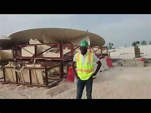 National Museum of Qatar - Construction Tour - YouTube