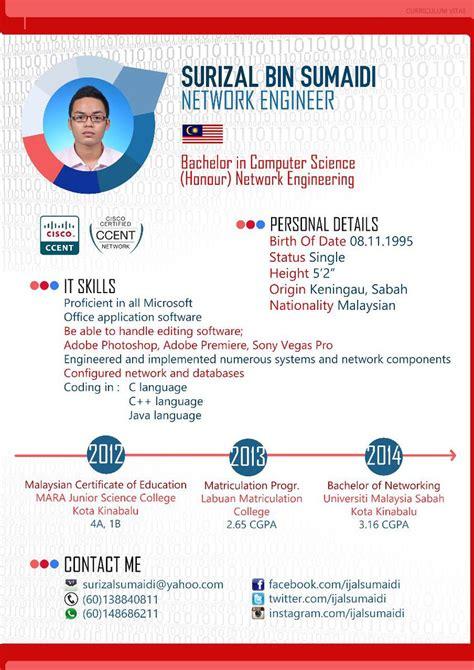 Contoh Resume Student by Contoh Resume Dan Cv