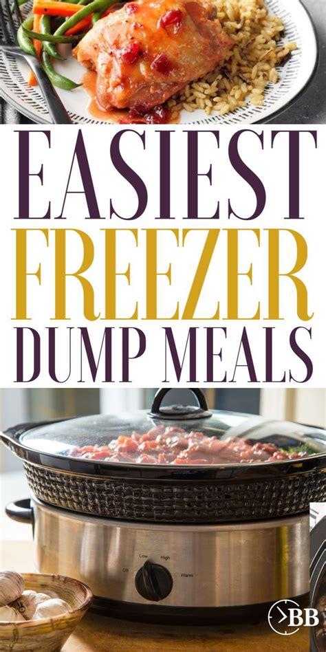 meals cooker slow dump freeze into right freezer
