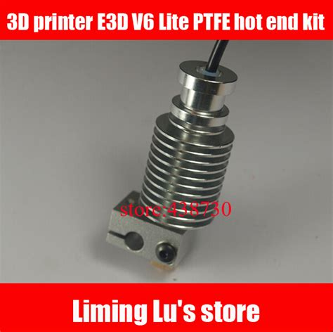 3d printer e3d v6 lite ptfe end proximity print end kit for 3mm supplies in other