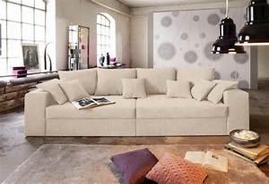 Sofaüberwurf Für Xxl Sofa : big sofa wahlweise in xl oder xxl online kaufen otto ~ Bigdaddyawards.com Haus und Dekorationen
