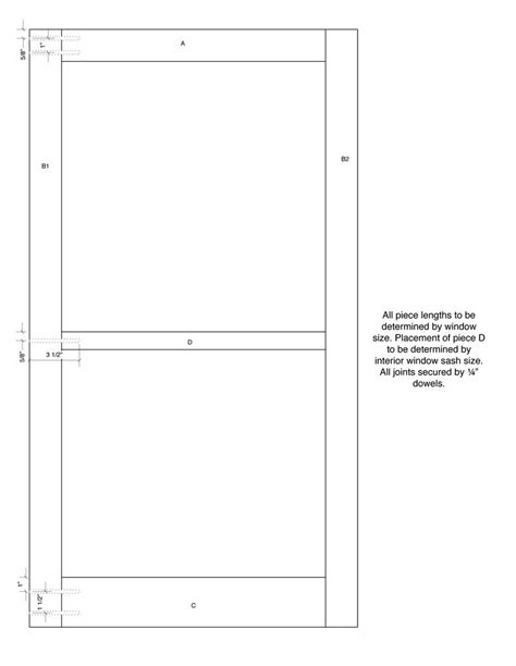 Wood Storm Window Plans PDF Woodworking