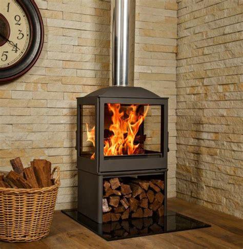 free standing wood burning fireplace wood burning fireplaces 4 glass