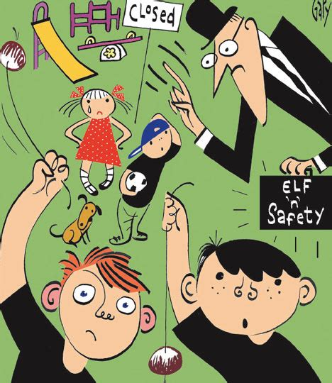 How Elf 'n' safety stole my country | Daily Mail Online